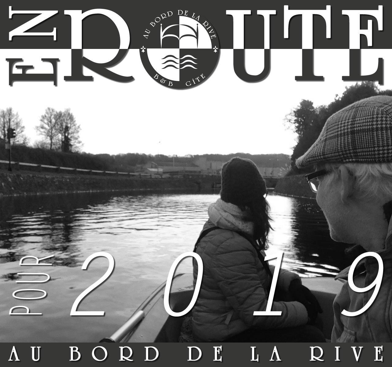 bonne annee 2019 Au Bord de la Rive B&B Pontrieux Bretagne